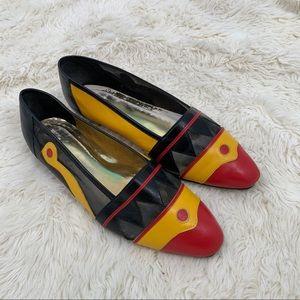 Retro Vintage Flat Leather women's Sz 10 S2021